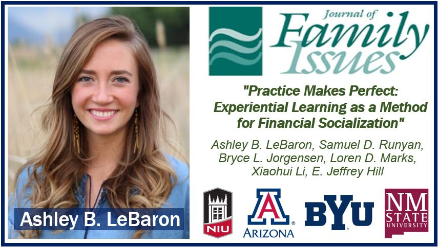Preparing kids financially image with Ashley LeBaron