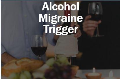 Alcohol migraine trigger - thumbnail