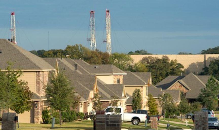 Fracking near town - cardiovascular disease link