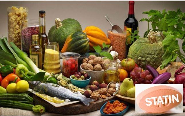 Mediterranean Diet plus statins - image