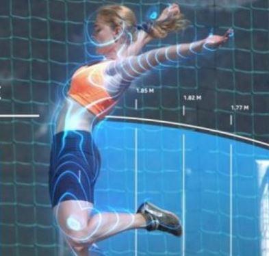 3D athlete tracking technology thumbnail