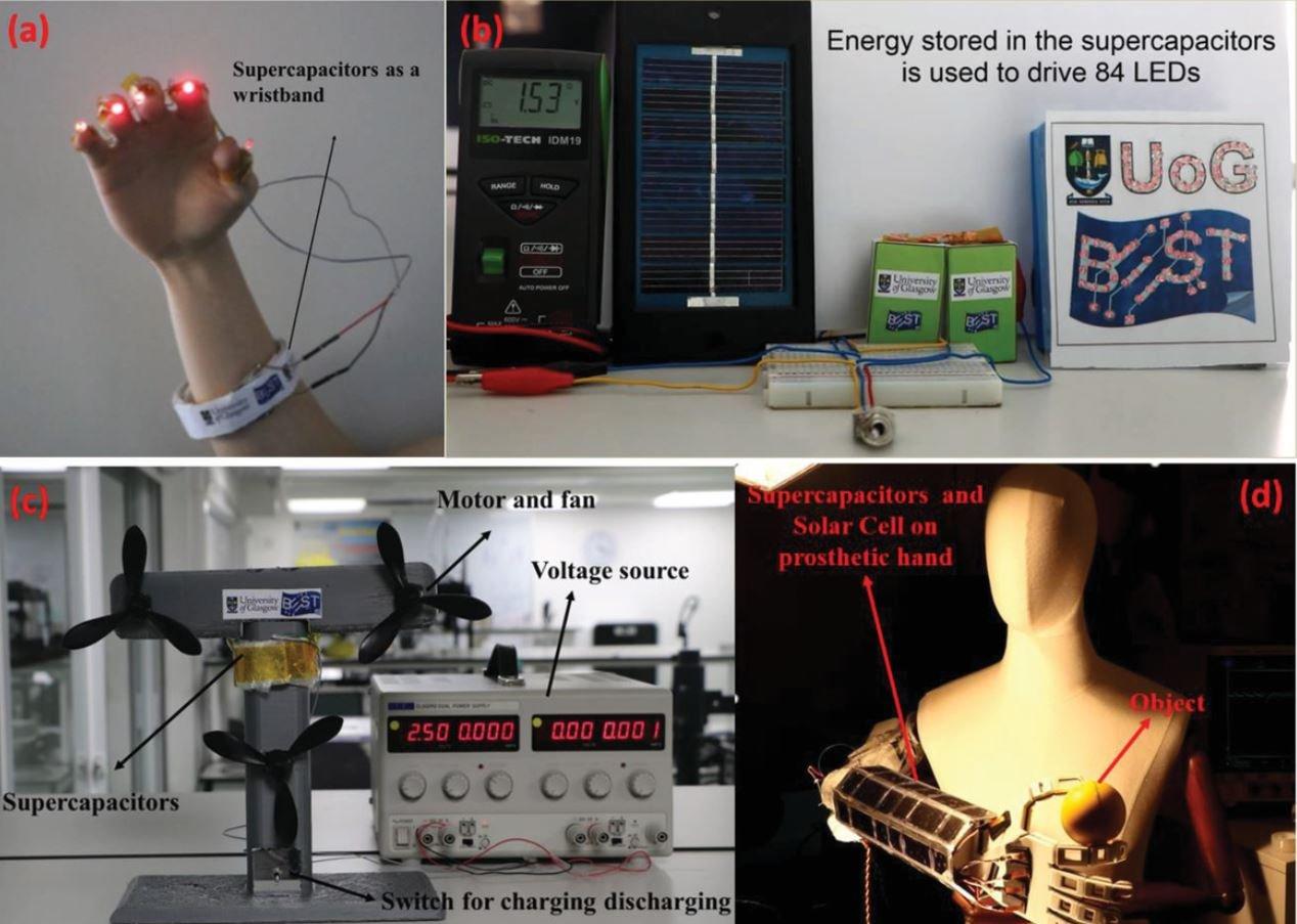 Solar-powered prosthetics article - image 1