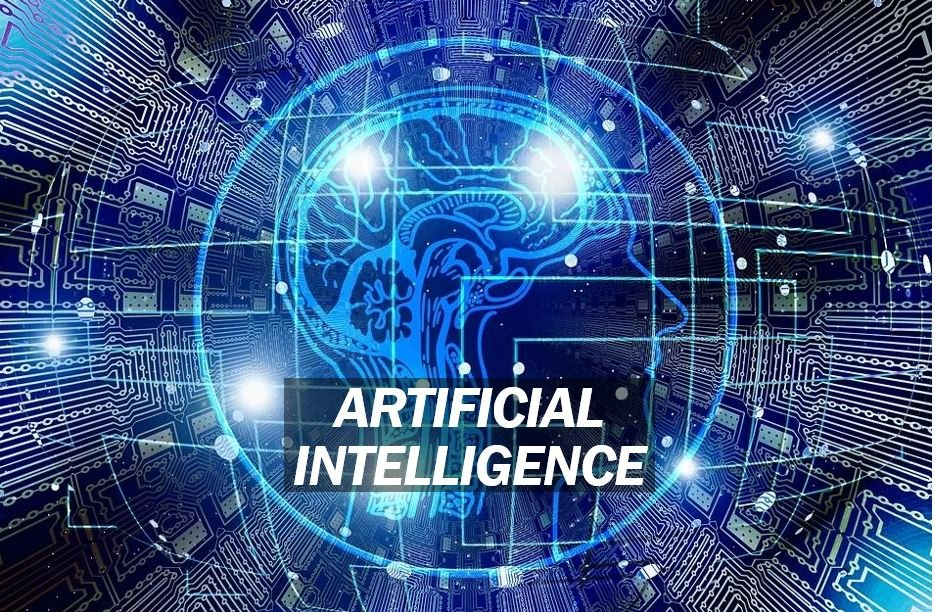 Artificial intelligence or AI image for article m44m4