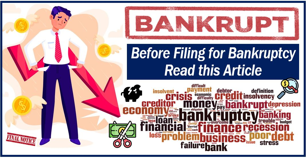What You Need to Do Before Filing for Bankruptcy - Market ...